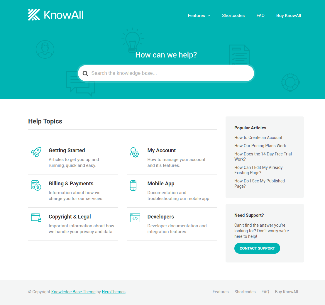 KnowAll Home Page