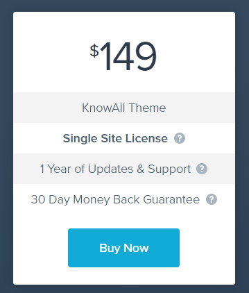 KnowAll Pricing