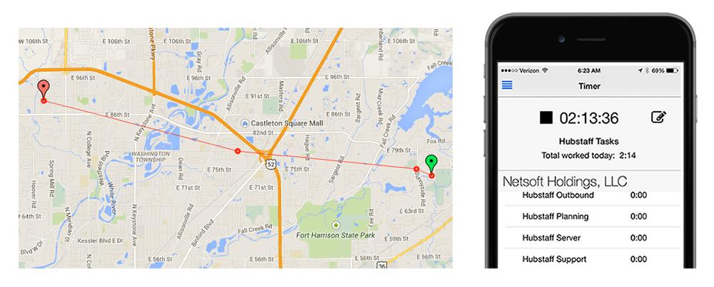Hubstaff Mobile App