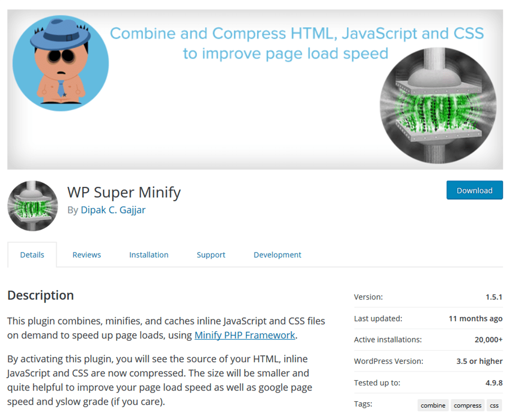 WP Super Minify