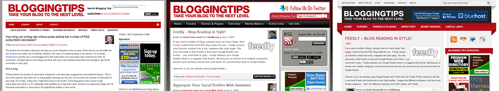 BloggingTips Designs