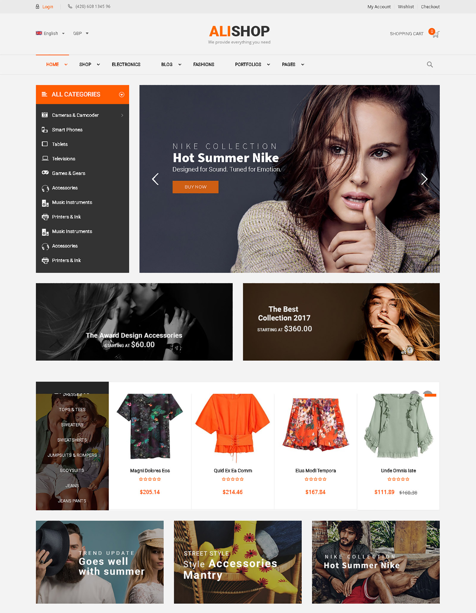 AliShop WordPress Theme