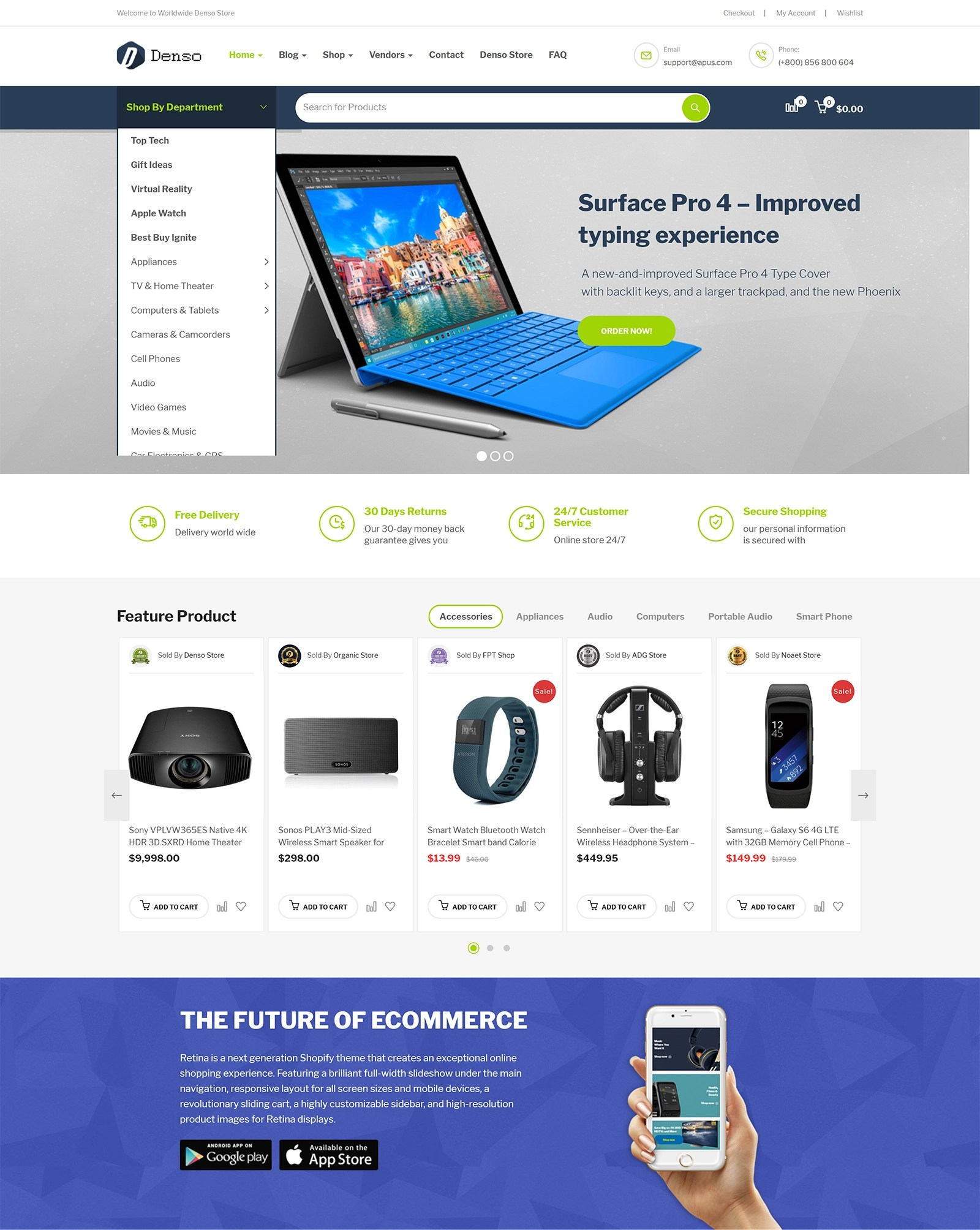 Denso WordPress Theme