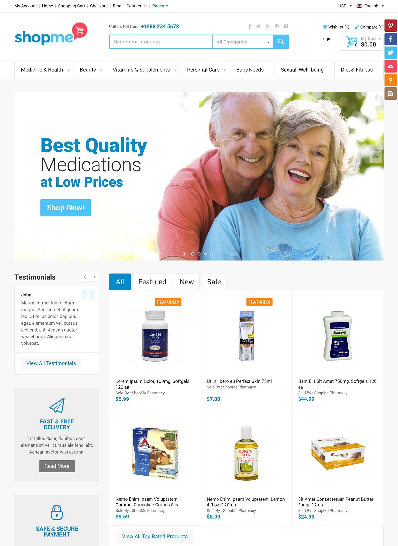 ShopMe WordPress Theme
