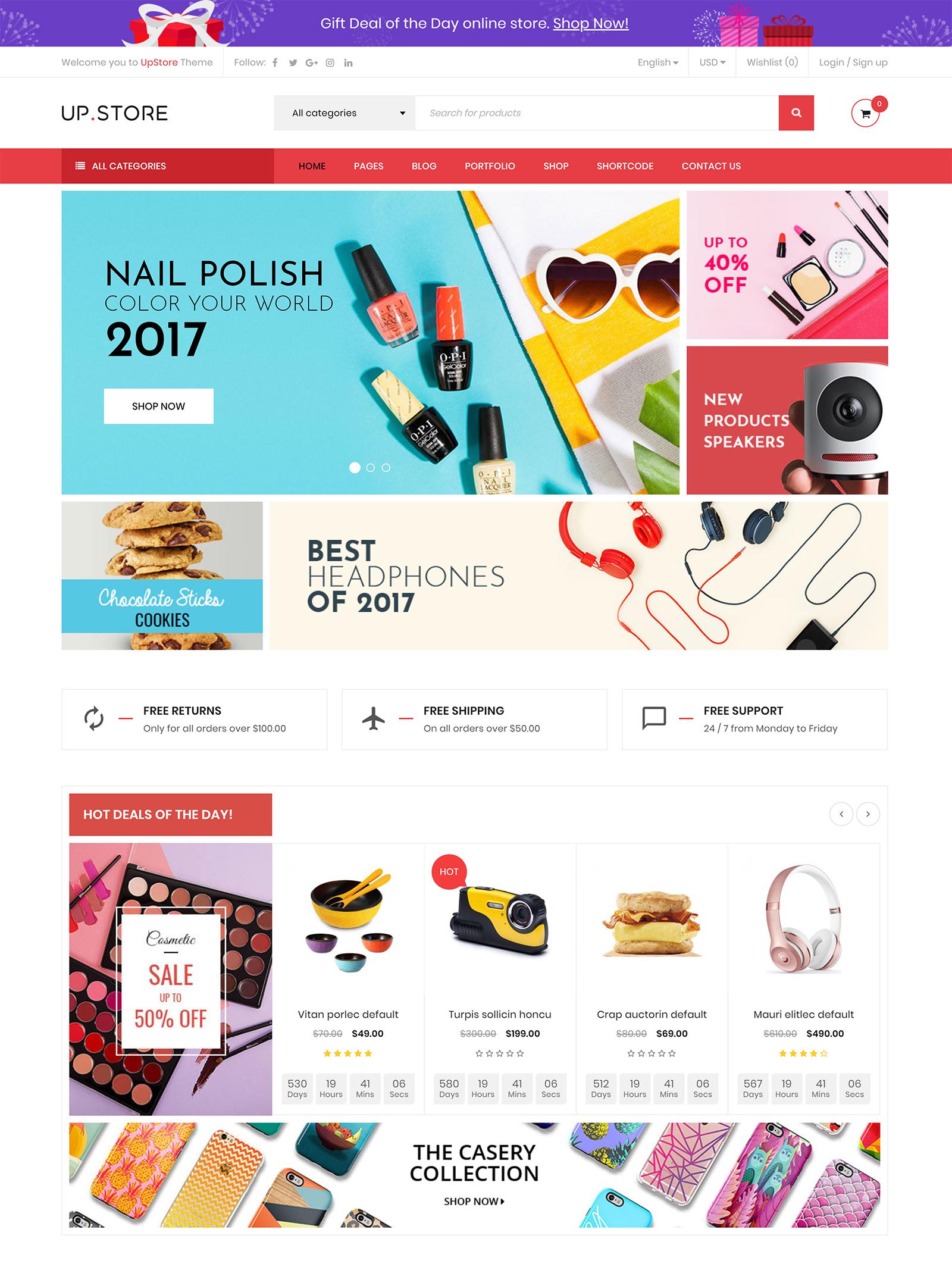 UpStore WordPress Theme