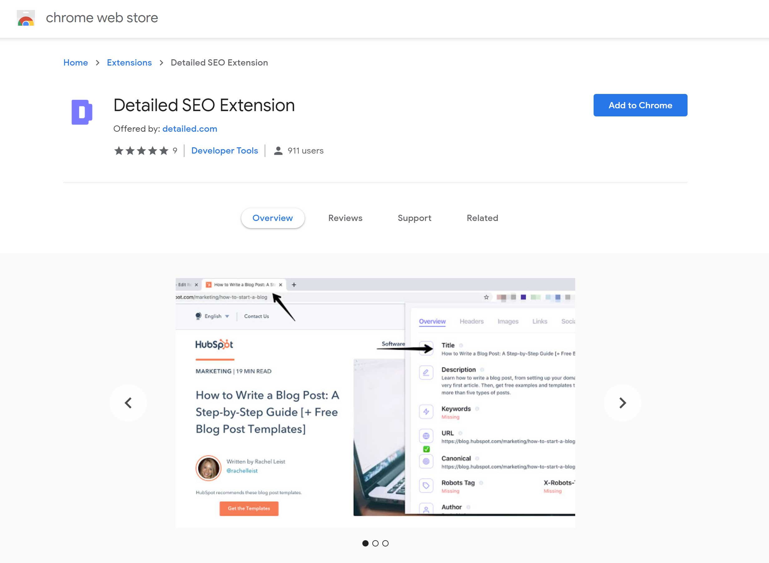 Extension Download Page