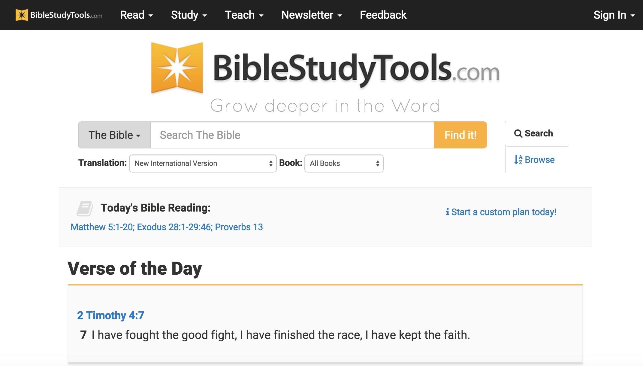 6 Best Online Bible Study Sites - Part One
