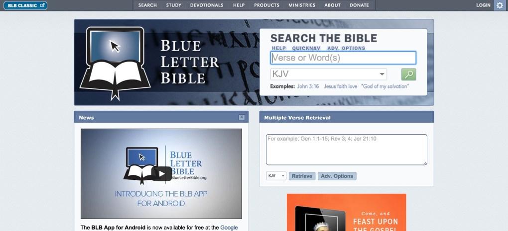Blue letter bible esv