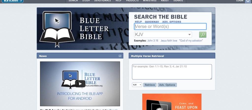 6 Best Online Bible Study Sites – Part Two