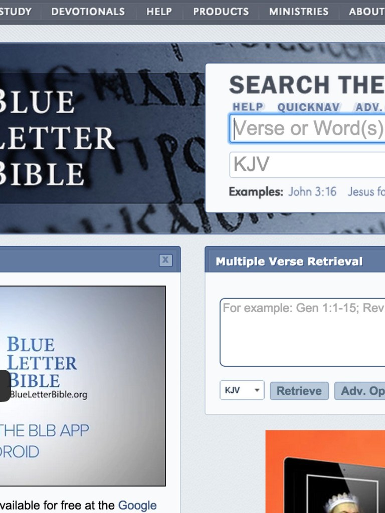 6 Best Online Bible Study Sites – Part Two