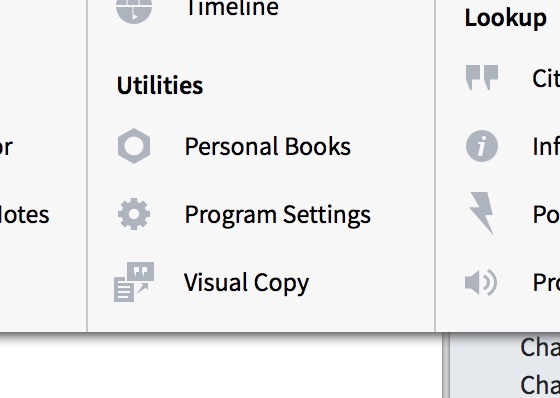 personal books in logos 6.1 update
