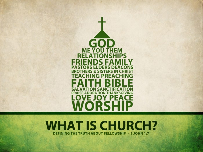 what is a church