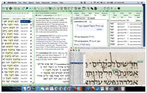 bibleworks 10 mac