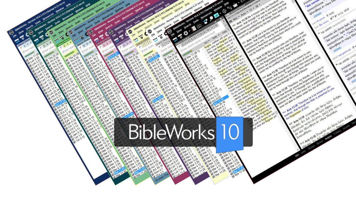 BibleWorks 10 Demonstration: What's New?