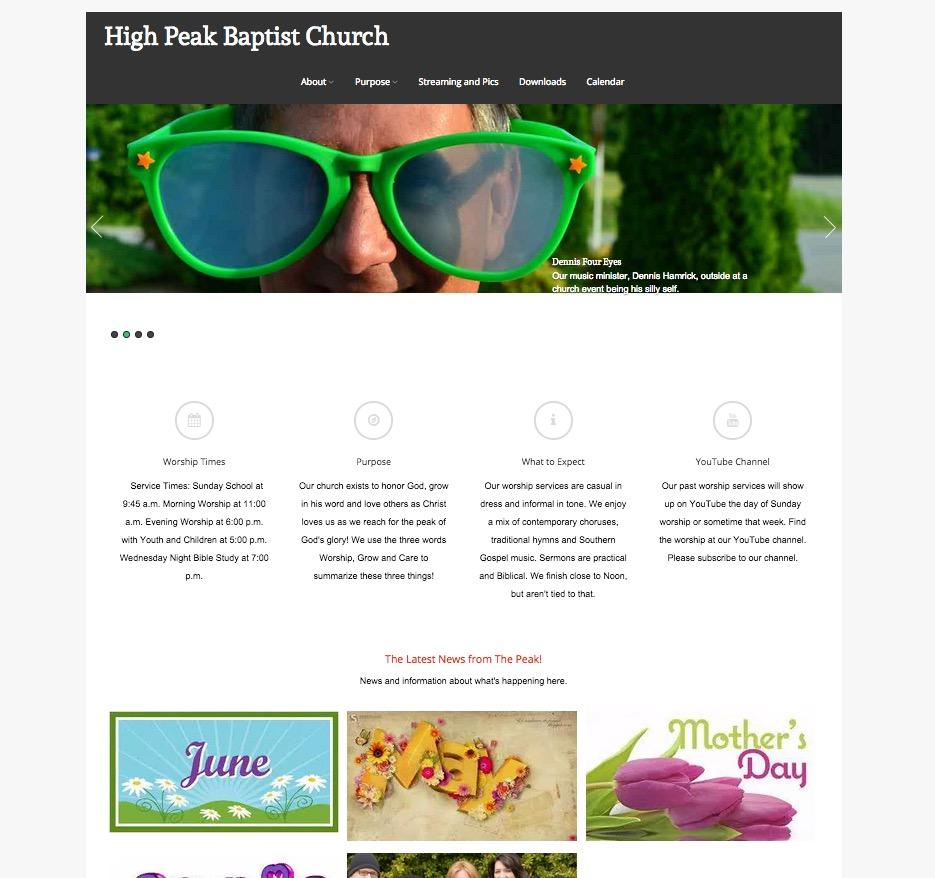 highpeakchurch.com