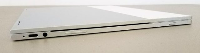 google pixelbook right edge