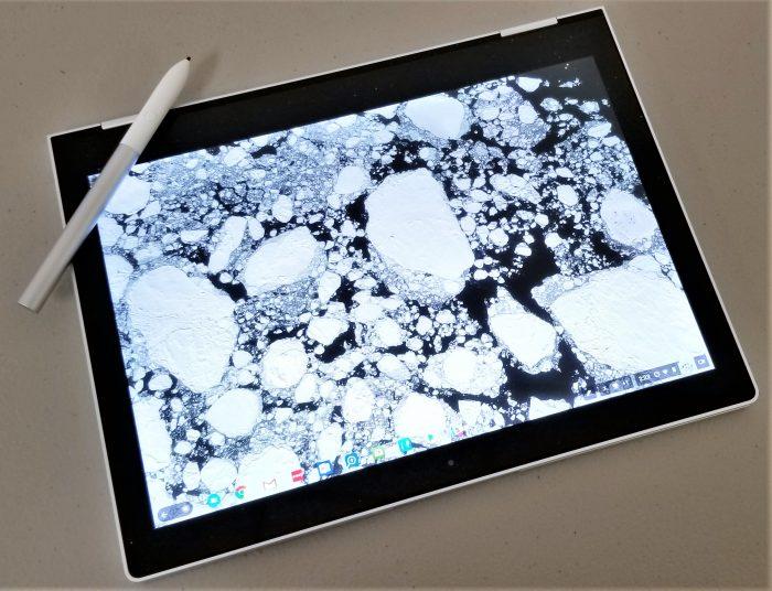 google pixelbook tablet mode