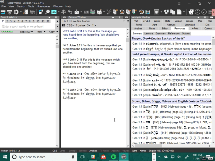 splashtop accessing Bibleworks on my windows pc
