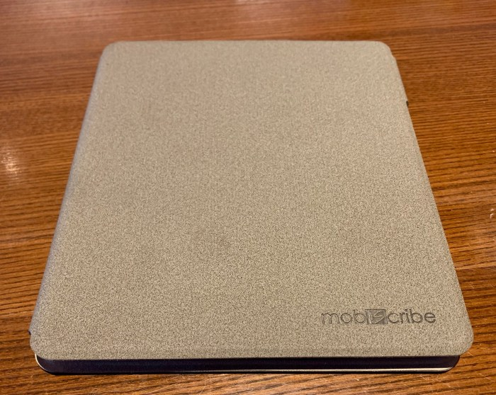 MobiScribe Notepad review Case