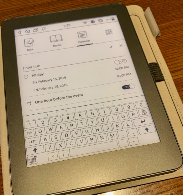 MobiScribe Notepad: The E-ink Notepad Android Device Review