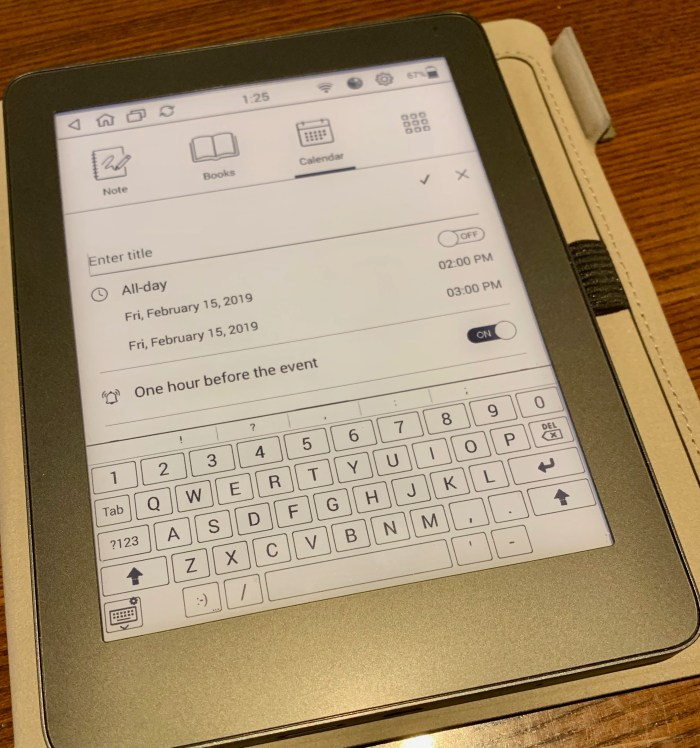 MobiScribe Notepad review