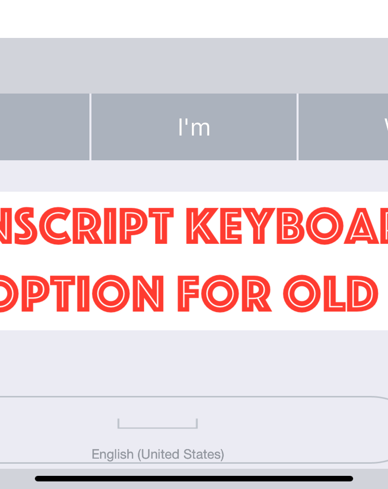Selvy PenScript iOS Keyboard Recognizes Handwrting