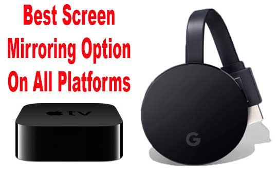 Best Screen Mirroring Software for Each Platform