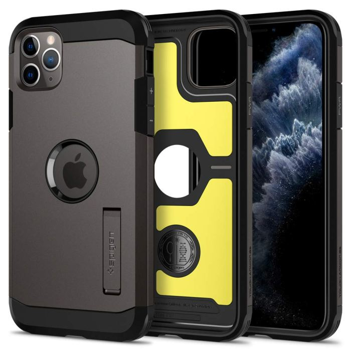iphone 11 pro max spigen tough armor case