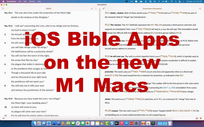 7 best iOS Bible study apps for m1 macs