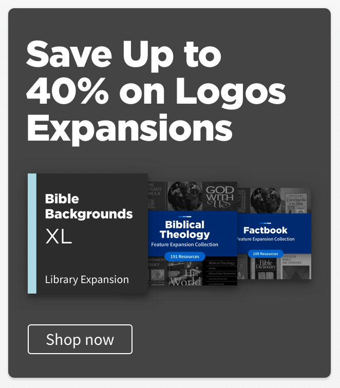 Logos 9 Basic Now Available for Free – What's Included