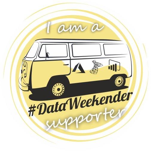 #DataWeekender supporter badge