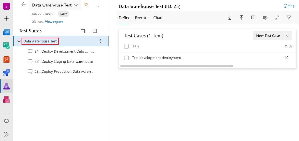 Test suite copied in Azure Test Plans