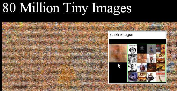 80 million tiny images
