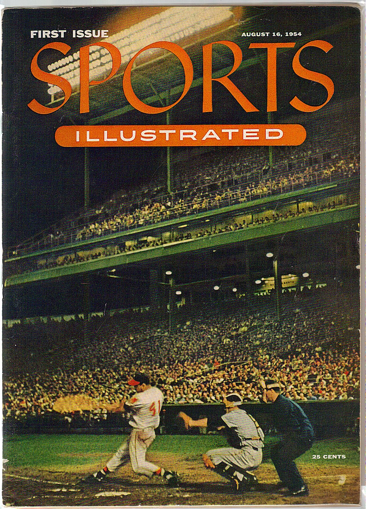 Eddie Mathews Sports Illustrated Debut