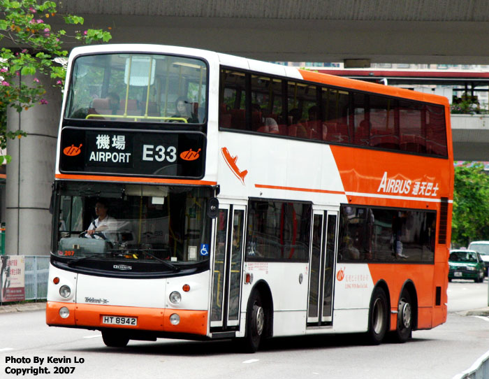 Hong Kong Dennis Tridents Long Win Bus
