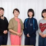 Chisatoさんと3人の英語弁論大会参加者