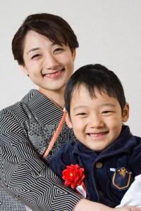 Kazukiとお母様のポートレート写真