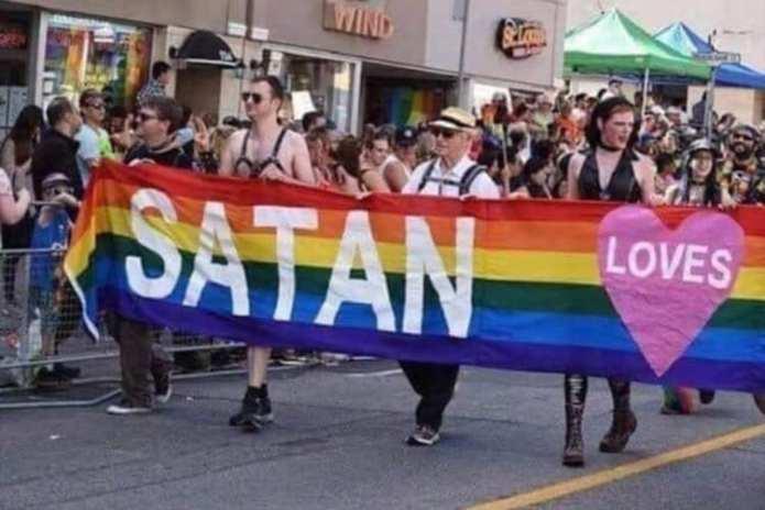 Satan loves