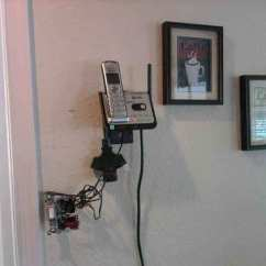 Kitchen Phone Led Lighting Kevin S Handy Man Services Virginia Beach Wall Mount Before During After