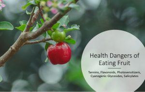 Health Dangers of Eating Fruit