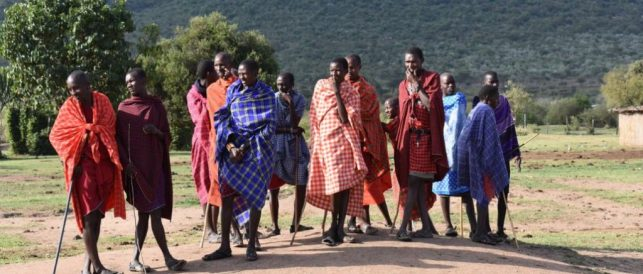 Masai as evidence for a meat-based diet