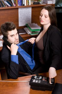 Hot Lawyer Adam Cawley and Lauren Ash