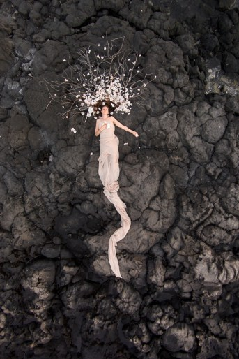 Laura Hollick Lava Offering by Kevin Thom