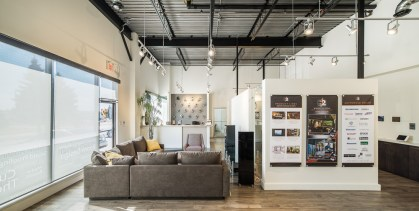 Retail Commercial Space - Gus Ricci Architect photographed by Kevin Thom