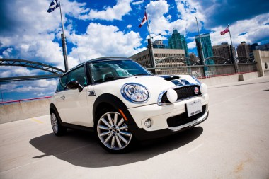 commercial car photography mini cooper s