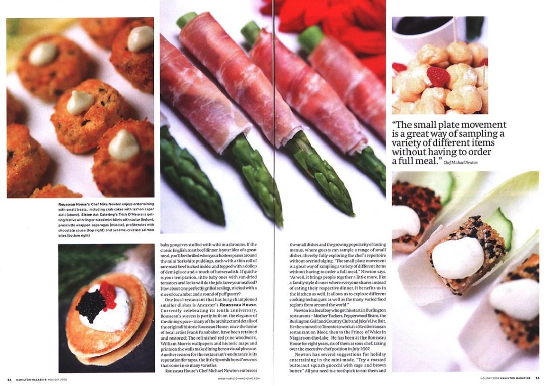 Hamilton Magazine Holiday 2008