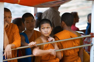 Young monks, Thailand