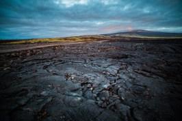 Big Island Lava Field, Hawaii