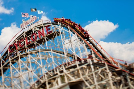 The Cyclone - Coney Island, NY