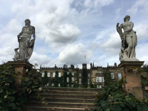 Renishaw Hall statues